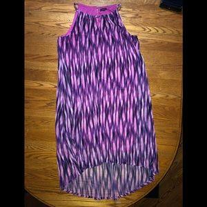 Hi-low halter dress size 18